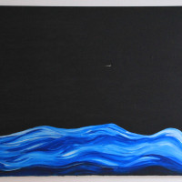 Night Water Acrylic