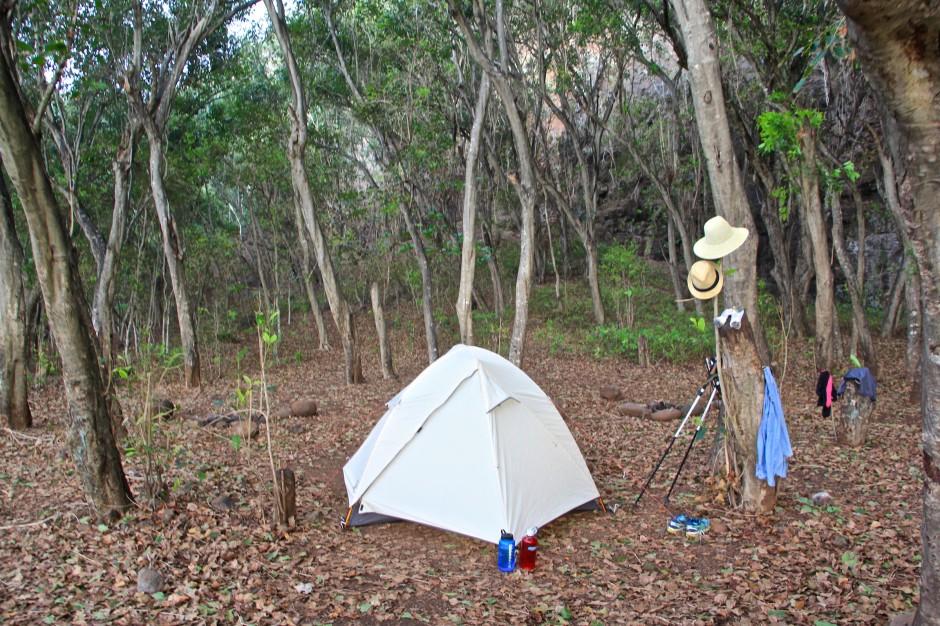 camping, kalalau beach