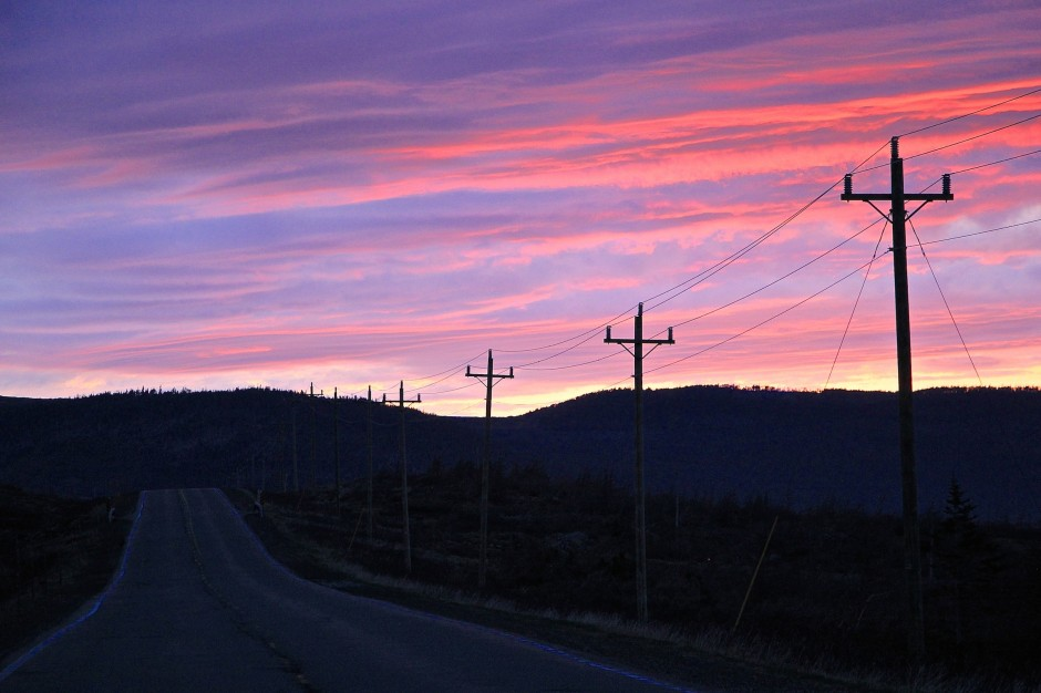 tablelands sunset